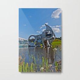Falkirk Wheel Metal Print
