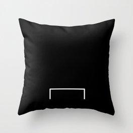 Goal line Throw Pillow