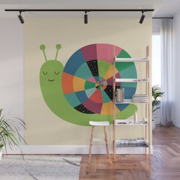 Snail Time Wall Mural