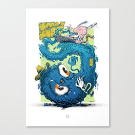 SPRAYSURF Canvas Print