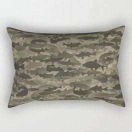 Fresh water fish camouflage Rectangular Pillow
