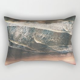 Rustic sea Rectangular Pillow