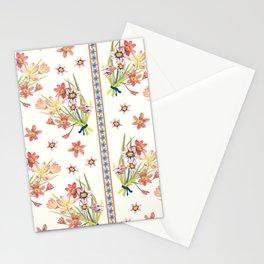 Chinoiserie Chintz Columns (cream) Stationery Cards