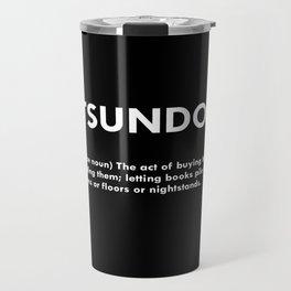 TSUNDOKU  Travel Mug