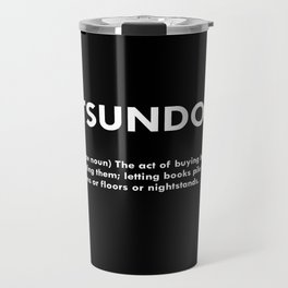 TSUNDOKU  Travel Mug