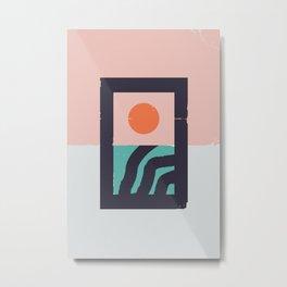 Sunsubiro Metal Print