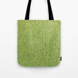 Phlegm Green Shag Pile Carpet Tote Bag