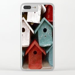 My house is my castle Clear iPhone Case