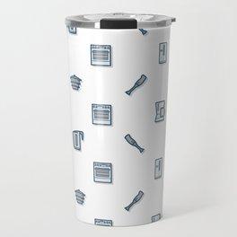 Home Appliances Pattern Ang Travel Mug