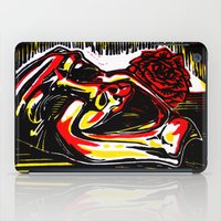 pain iPad Cases featuring Pain by Ricardo Patino