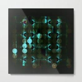 Fractal - Nightflight Metal Print