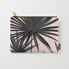 Fan Palm Leaves Jungle #2 #tropical #decor #art #society6 Carry-All Pouch