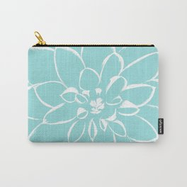 Dahlia Limpet Shell Carry-All Pouch