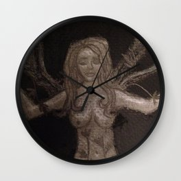 The Creation of Women (detail) Wall Clock
