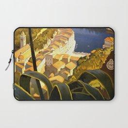 La Riviera italienne, Portofino près de S.Margherita et Rapallo Laptop Sleeve