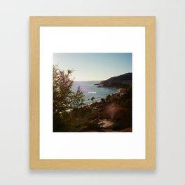 lany kinda Framed Art Print
