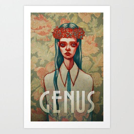GENUS Art Print