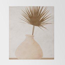 Leaf Throw Blanket