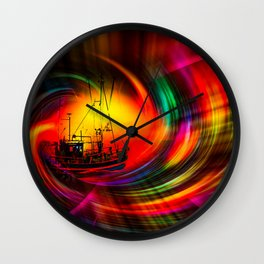 Time- Tunel100 Wall Clock