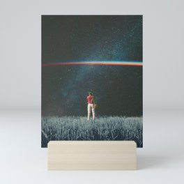 Saw The Light Mini Art Print