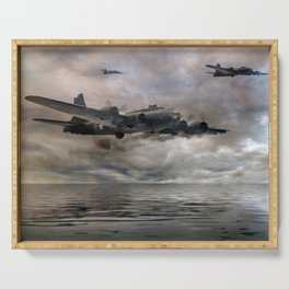 B-17 Flying Fortress - Almost Home Serving Tray