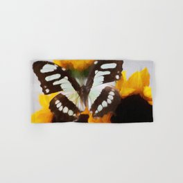 Summer Butterfly Hand & Bath Towel