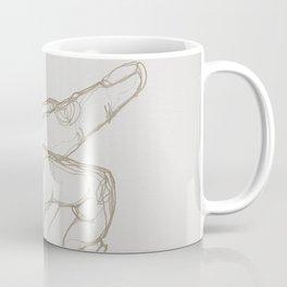 Angry Hands - Gold Coffee Mug