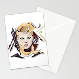Queen Lagertha Stationery Cards