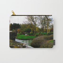 The most beautiful village in England, Bibury. Carry-All Pouch