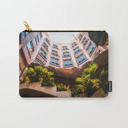 Skylight Garden | Casa Mila (La Pedrera) Barcelona Spain Travel Gaudi Architecture Photography Carry-All Pouch