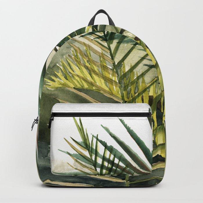 Arecaceae - household jungle #2 Backpack