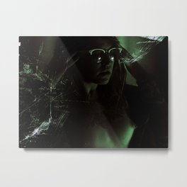 Suicide Witch in Critique II Metal Print