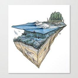 Orcas Point Canvas Print