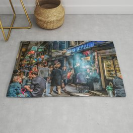 Deckard's Lane (photograph) Rug