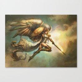 Archangel of Strife Canvas Print