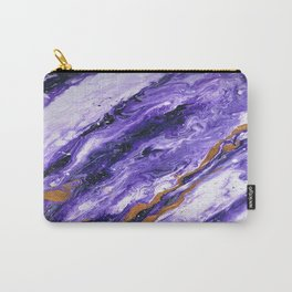 Chevron Amethyst 2 Carry-All Pouch