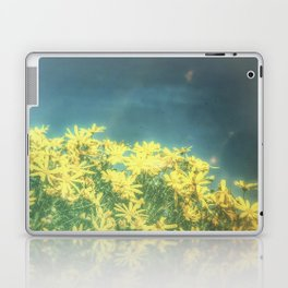 Yellow Vintage Daisy - Margaritas Amarillas Vintage Laptop & iPad Skin