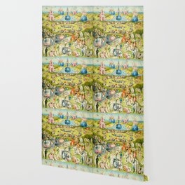 The Garden of Earthly Delights by Bosch Wallpaper