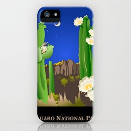 Saguaro National Park iPhone Case