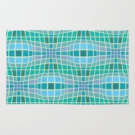 Protrusion and retraction - Optical Game 18 Rug