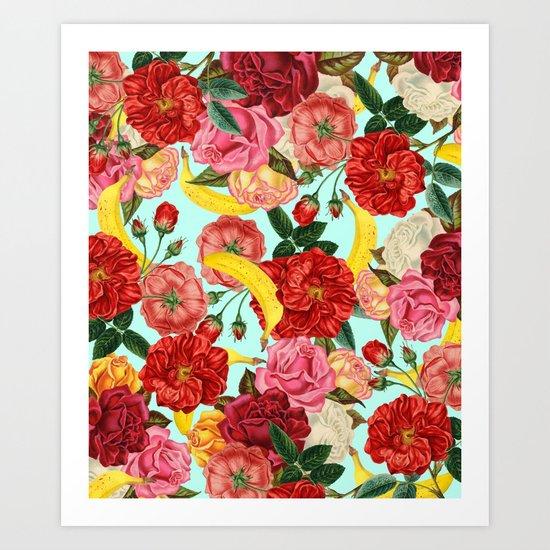 Tropical Forest #society6 #decor #buyart Art Print