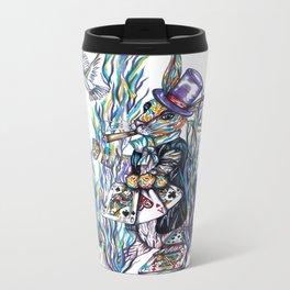 Rabbit Metal Travel Mug