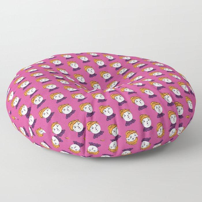Face Phase: Maude Floor Pillow