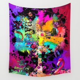 TieDie Palm Tree Wall Tapestry