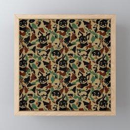 Chihuahua Camouflage Framed Mini Art Print