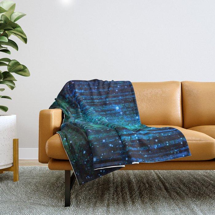 magical path Throw Blanket