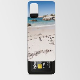 Penguins on Boulders Beach in Cape Town, South Africa Android Card Case