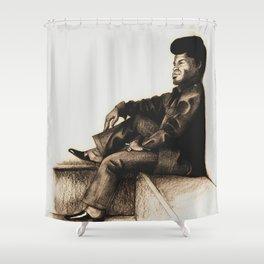 James Brown Shower Curtain