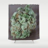 medical Shower Curtains featuring Master Kush Medical Marijuana by BudProducts.us