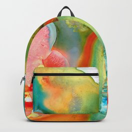The Goddess - Abstract Art By Sharon Cummings Backpack